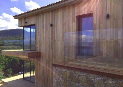 Maison Coti (2A) - Vue baies d'angle