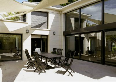 Maison bords de Marne (94) - côté terrasse