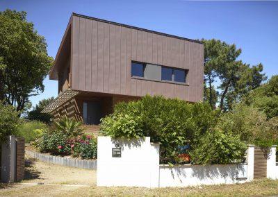 Maison bois & zinc - Entrée