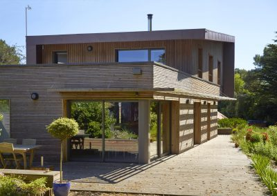 Maison bois & zinc - Saint-Brévin (44)