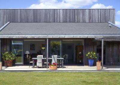 Maison bois - Côté terrasse