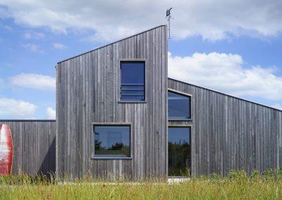 Maison bois - Façade nord