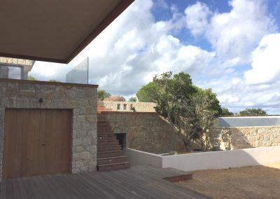 Maison Coti (2A) - Côté garage