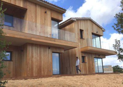 Maison Coti (2A) - Côté chambres
