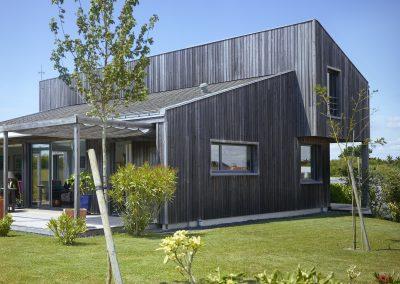 Maison bois - La Plaine-sur-Mer (44) - Côté jardin